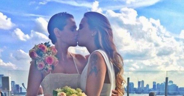 """Angelis Borges, ex-Fazenda de Verão, se casa com inglesa: """"Ela ..."""