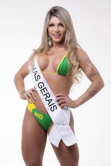 Camila Gomes, representante de Minas Gerais, classificou seu popozão para a final