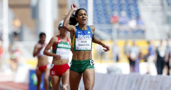 Brasileira Juliana dos Santos é ouro na primeira final de pista do ...