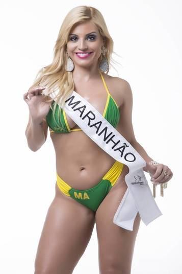 Fernanda Abraão, representante do Maranhão, foi a mais votada pelos internautasCandidatas a miss Bumbum 2015 mostram suas armas para ganhar o concurso em ensaio exclusivo