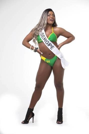 Daiana Nogueira, representante do Sergipe, está de olho no título de miss bumbum