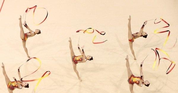 12 imagens mostram que as atletas de ginástica rítmica são as ...