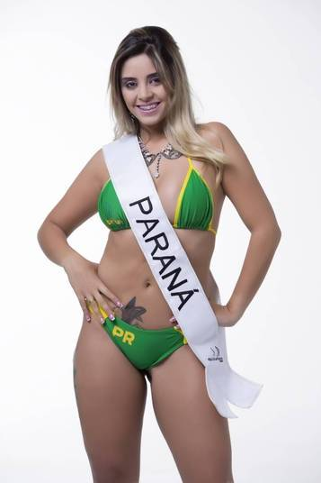 Thamara Amâncio, representante do Paraná, também está na briga