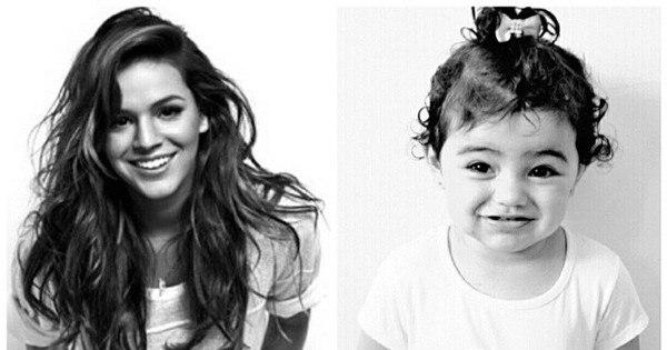 Garotinha de dois anos imita look de famosas e derrete corações ...