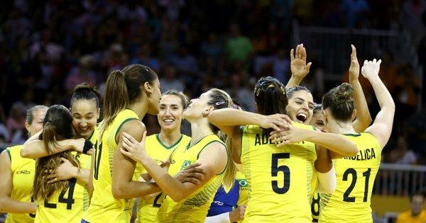 Brasil faz virada espetacular e garante a vaga na final do vôlei ...