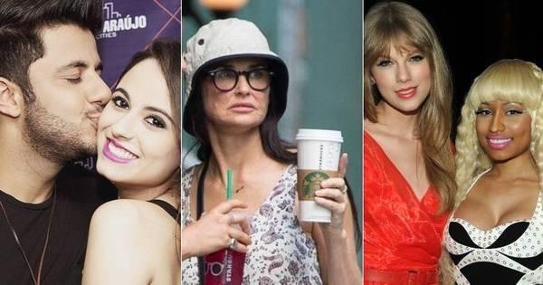 Um mês sem Cris Araújo, tragédia com Demi Moore e briga de divas