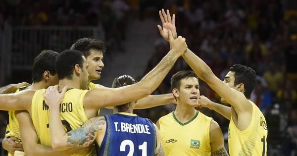 Brasil x Argentina no vôlei e final do futebol são os destaques do ...