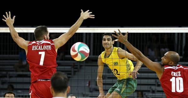 Brasil tem clássico pela frente na final do vôlei masculino no Pan ...