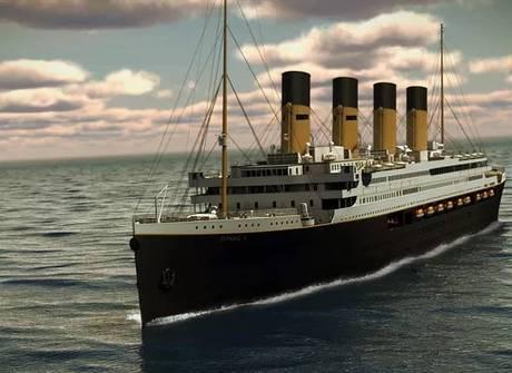Novo Titanic será inaugurado em 2016 e já tem fila de espera