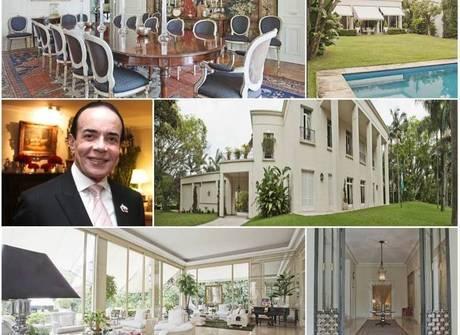Mansão de Chiquinho Scarpa é a mais cara em imobiliária de luxo