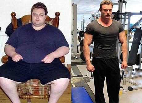 Após tentar suicídio, obeso seca 114 kg e vira gato musculoso