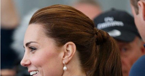 Cabeleireiro de Lady Di critica cabelo branco de Kate Middleton ...