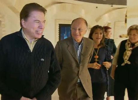 Não perca! Silvio Santos e Edir Macedo têm encontro inédito