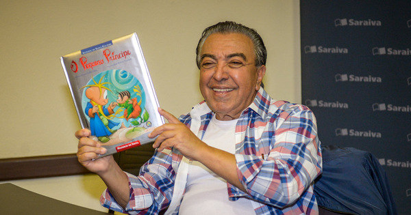 Maurício de Sousa lança 'O Pequeno Príncipe' e recebe fãs em livraria