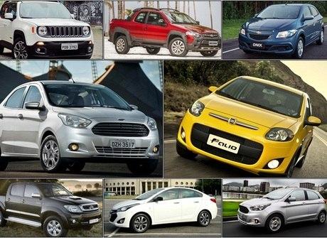 Top 30: descubra quais foram os veículos mais vendidos de julho