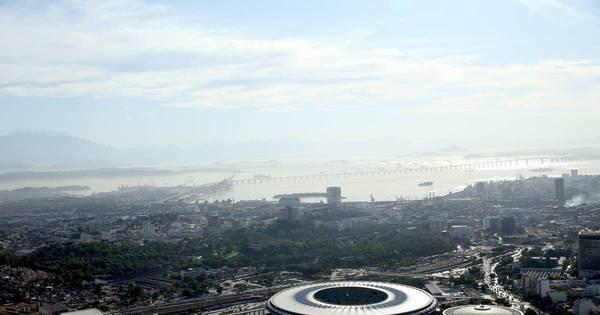 Rio conta os dias para a cerimônia de abertura da Olimpíada - Fotos ...