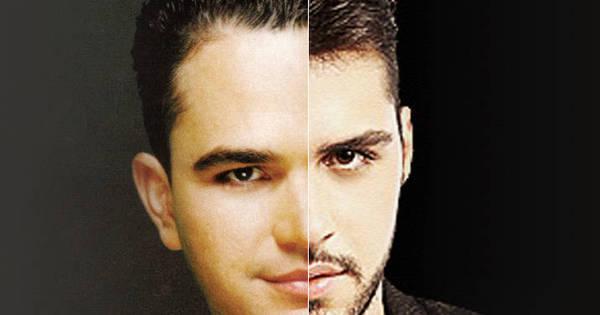 """Semelhança entre Luciano Camargo e filho Phillip impressiona: """"Eu ..."""