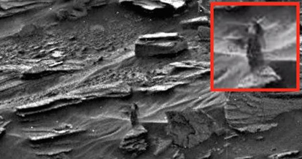 """Alien ou fantasma em Marte? Vulto de """"mulher"""" aparece em fotos da ..."""
