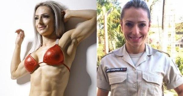 Sarada: agente penitenciária fitness vira musa da cadeia - Fotos ...