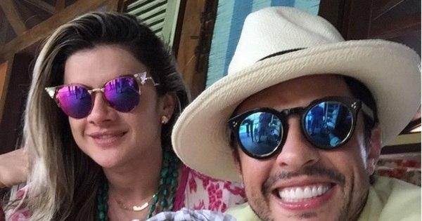 """Ceará celebra um aninho da filha: """"Princesa do pai ..."""