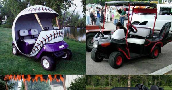 Os carrinhos de golfe mais legais da história - Fotos - R7 Pan ...