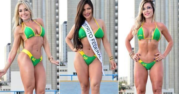Candidatas a miss Bumbum 2015 mostram suas armas para ganhar ...
