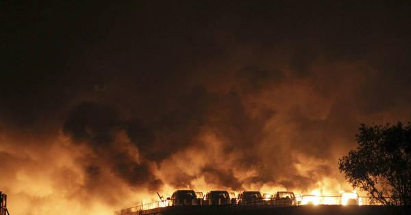 Governo local tinha vínculos com o depósito que explodiu e matou ...