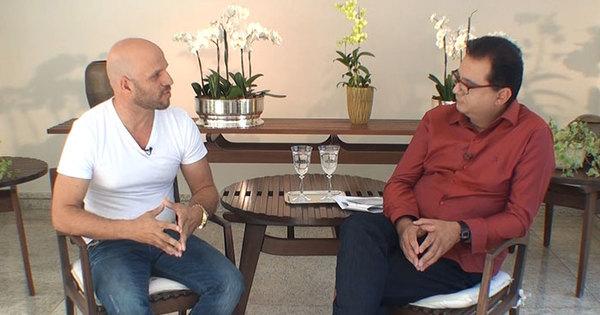 Geraldo Luís entrevista o motorista que dirigia o carro de Cristiano ...