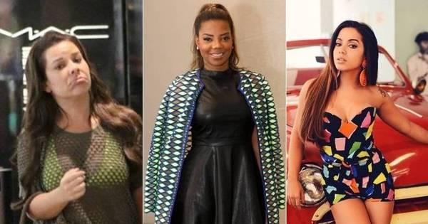 Anitta, Ludmilla e Fernanda Souza: você não quer esses famosos ...