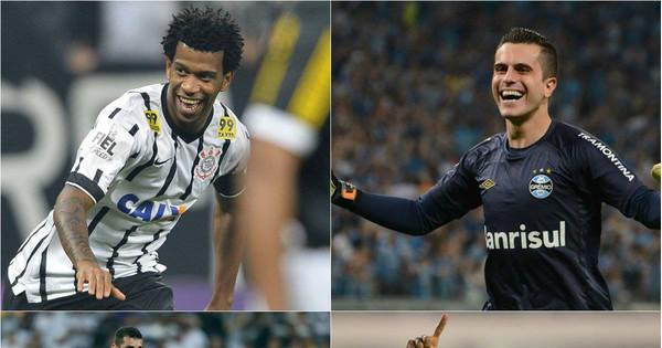 Confira a seleção do primeiro turno do Brasileirão - Fotos - R7 Futebol