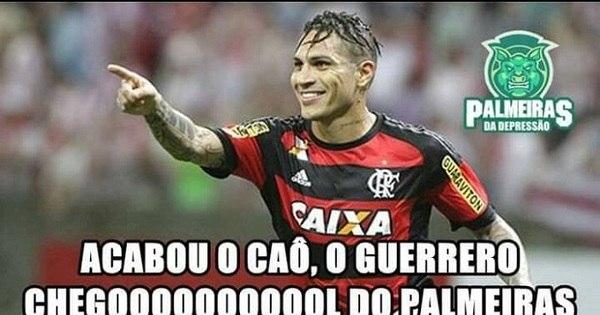 Flamengo se dá mal contra o Palmeiras e vira meme. Veja os ...