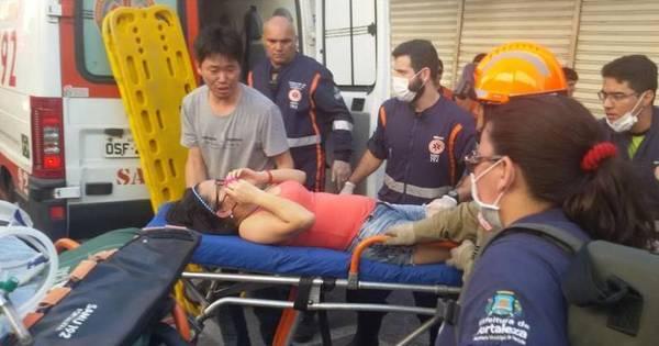 Teto de loja desaba e mata duas crianças em Fortaleza - Fotos - R7 ...