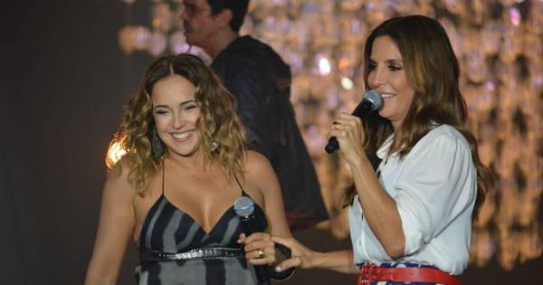 Sem rivalidade: Ivete Sangalo e Daniela Mercury dividem o palco e ...