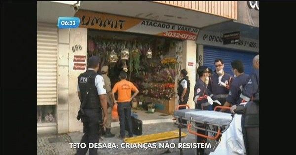 Teto de loja cai e mata duas crianças em Fortaleza - Fotos - R7 ...