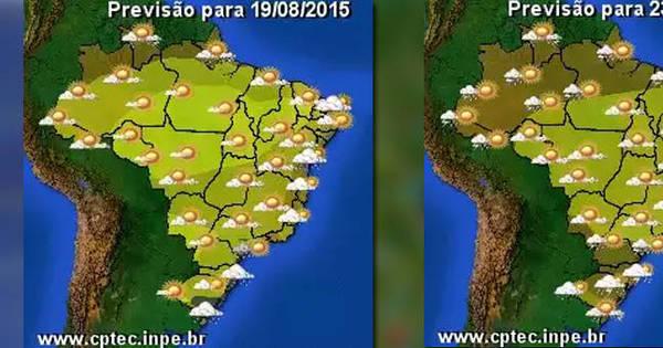 Calor no Sul, frio no Nordeste, seca no Sudeste... Entenda o tempo ...