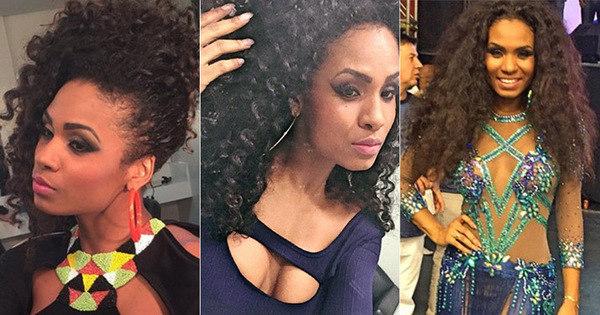 Valeska Reis adora inovar com penteados para cabelos cacheados ...