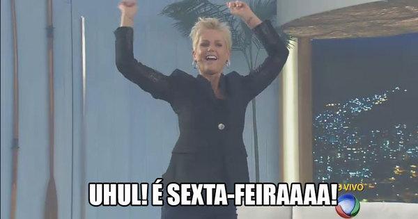 A sexta chegou! Divirta- se com os melhores memes da Xuxa - Fotos ...