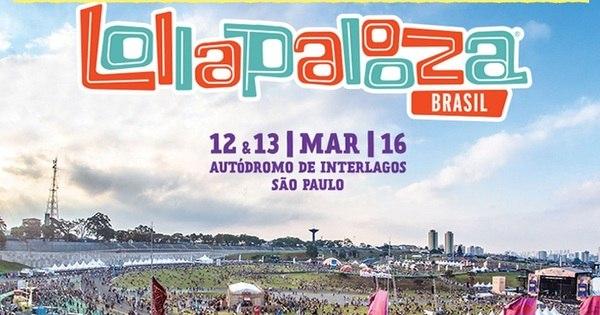 Ingressos para o Lollapalooza 2016 aumentam de preço e podem ...
