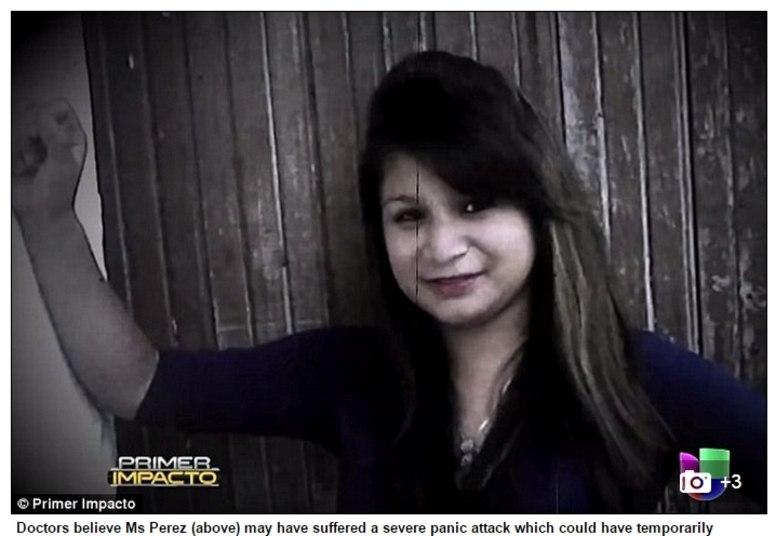 Um vídeo publicado na internet mostra o momento em que a família de Perez quebra o túmulo onde a jovem de 16 anos de idade havia sido enterrada