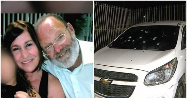 RJ: casal tem carro atingido por mais de 30 tiros e mulher morre a ...