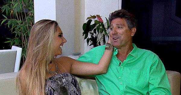 Filha de Renato Gaúcho reclama do ciúme do pai no Câmera ...