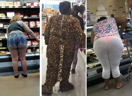 Desastres: página reúne os looks mais bizarros dos supermercados