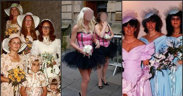 Os 25 piores vestidos de madrinhas de casamento de todos os ...