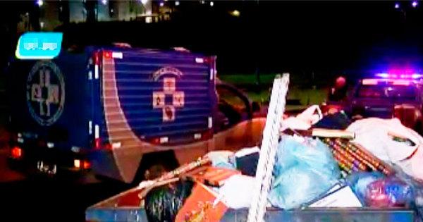 Ossada humana é encontrada dentro de container de lixo em ...
