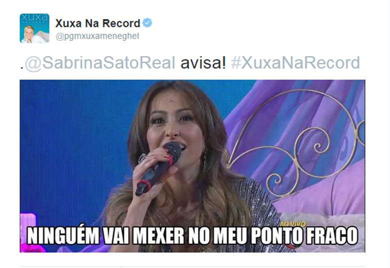 """Xuxa respeita a opinião dos amigos+ 'Acordo parecendo uma… bumbum!"""". Relembre as melhores frases da Xuxa> Acesse o R7 Play e assista na íntegra a todos os programas da Record! Clique e experimente de graça!"""
