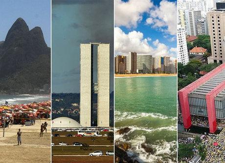 Saiba quais são as 14 cidades<br />mais populosas do Brasil