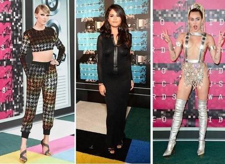 Com looks duvidosos, famosas abusam da sensualidade no VMA