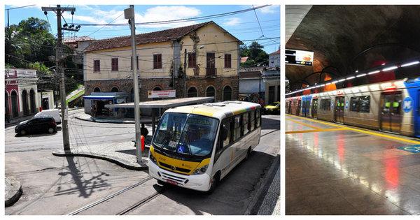 Transporte público do Rio é mais barulhento do que o de São Paulo ...