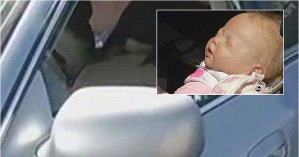 Policial quebra vidro de carro para salvar bebê e tem surpresa ...