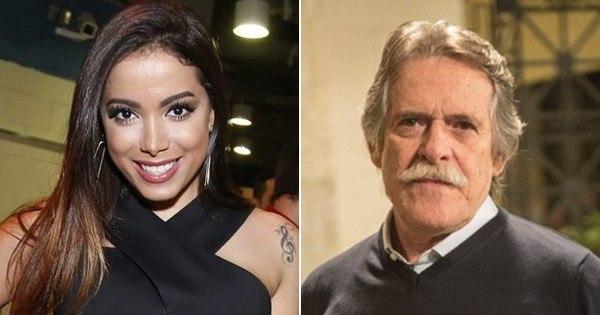 José de Abreu critica destaque de Anitta e Luan Santana no Prêmio ...